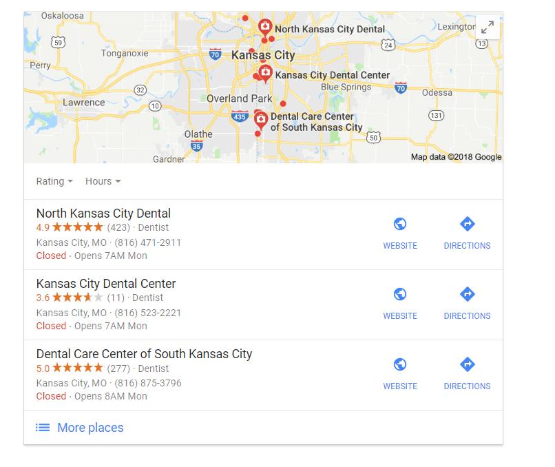 Kansas City SEO SnackPack
